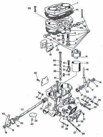 schema motore fiat 126