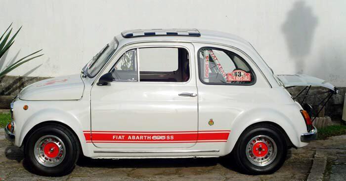 Valle Brembana Fiat 500 Concorso Eleganza A San